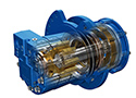 Hydraulic track motor features high starting torque low heat generation