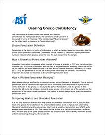 AST Bearings Cover