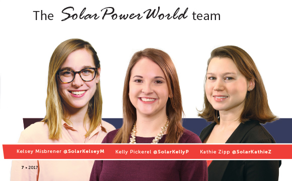 The Solar Power World Team