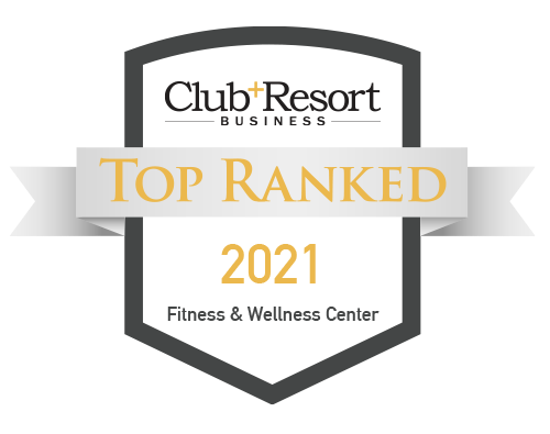 Club and Resort Top Ranked Fitness and Wellness Center